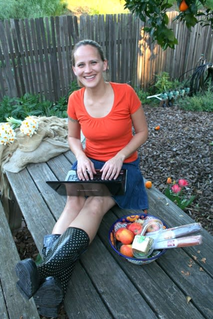 Food blogger and food literacy advocate Amber Stott
