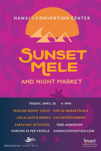 Sunset Mele Flyer