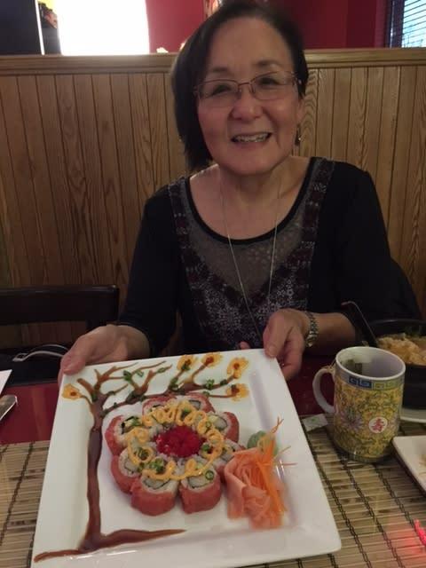Dorothy Kittaka at the Cherry Blossom Festival Fort Wayne