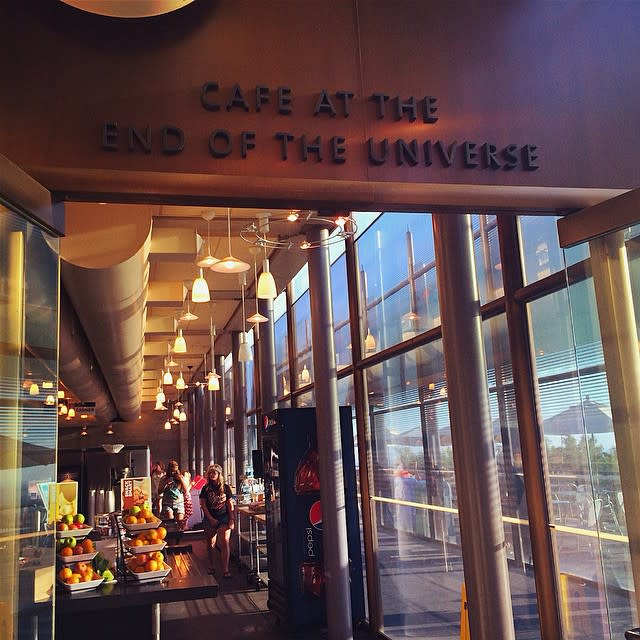 Cafe at the End of the Universe