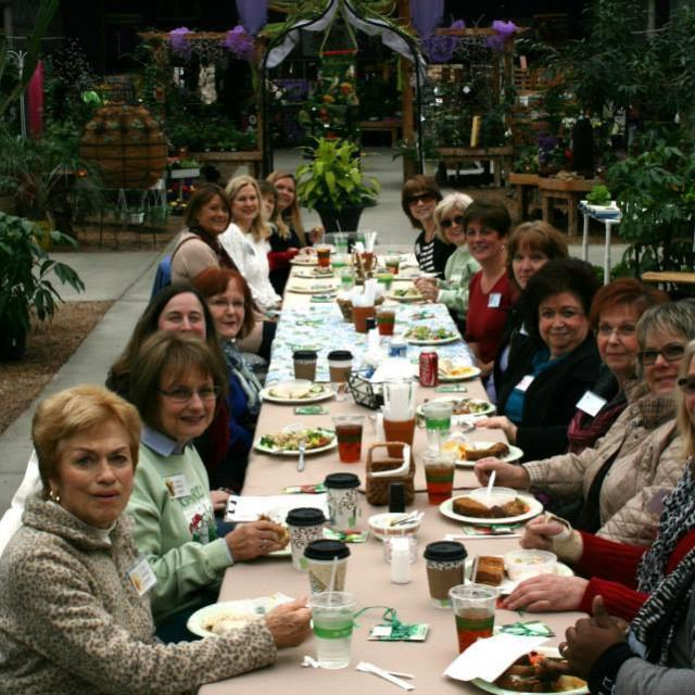 Happy Garden Club luncheon