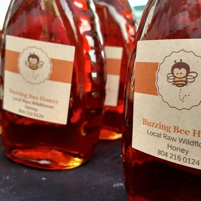 Local raw honey!