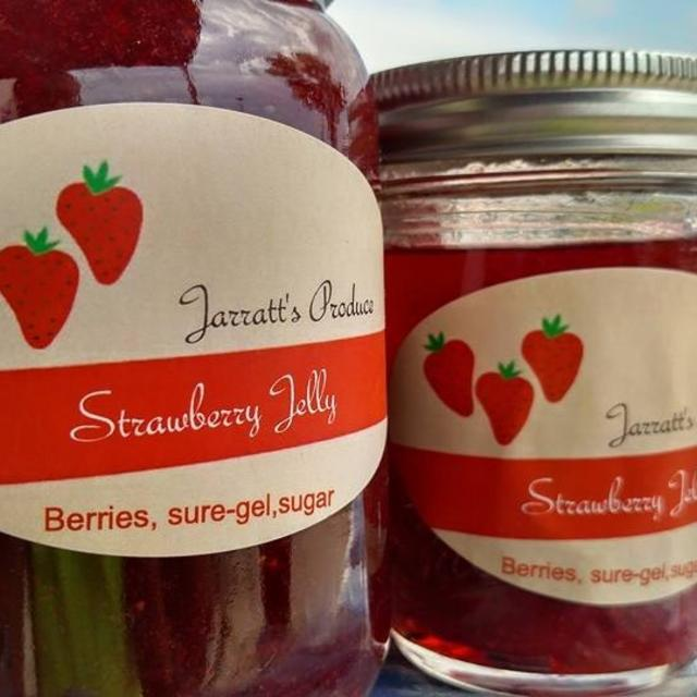 Fresh strawberry jelly!