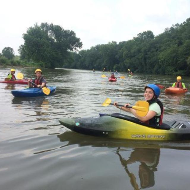 Kayaking on the James