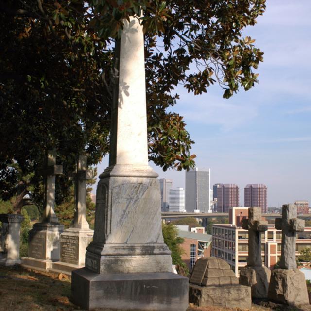 Cemetery with Skylime