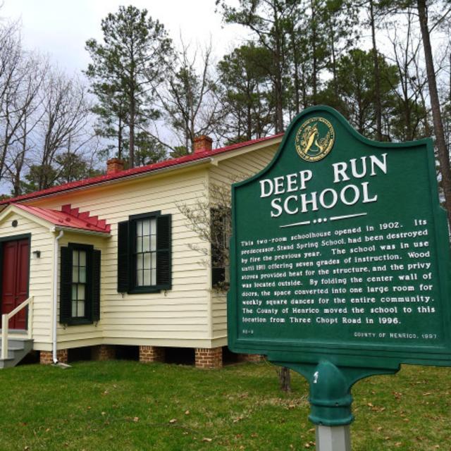 NEW Deep Run Schoolhouse