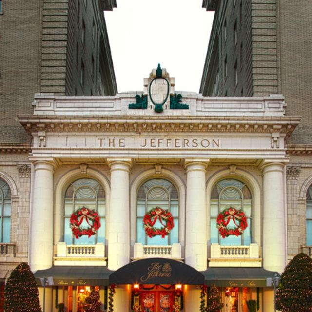 Holidays at The Jefferson Hotel