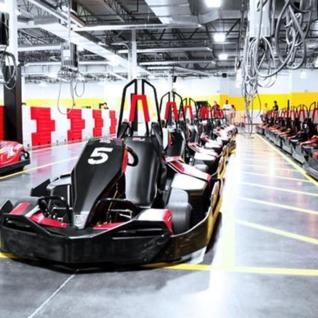 NEW Thunderbolt Indoor Karting