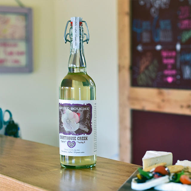 Courthouse Creek Cider Amouse Bouche