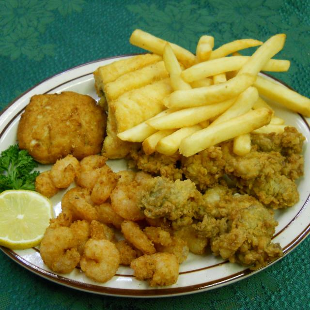Regular Seafood Platter