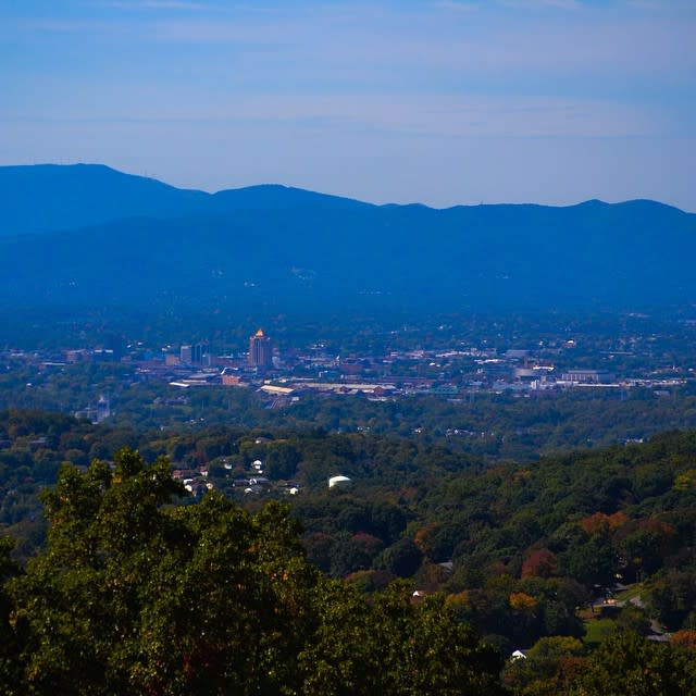 Roanoke Valley Overlook - Fall Photo