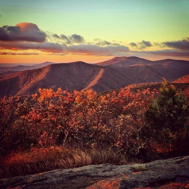 Fall Colorful Mountains - Fall Photo