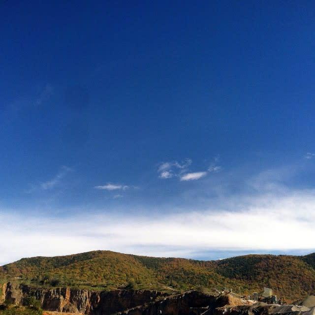 Blue Skies - Fall Photo