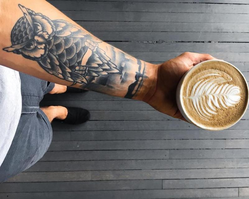 Blue Owl coffee