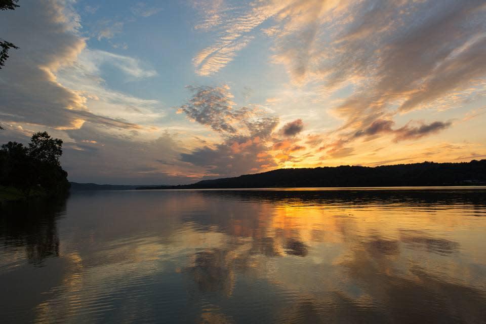 Augusta tranquil sunset