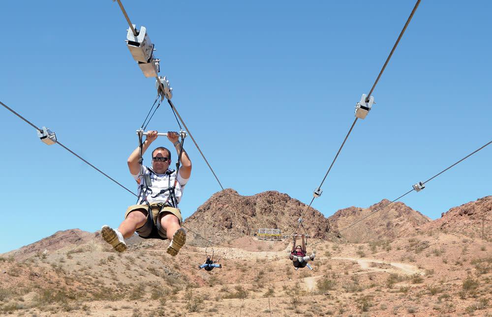 Flightlinez Bootleg Canyon Zipline
