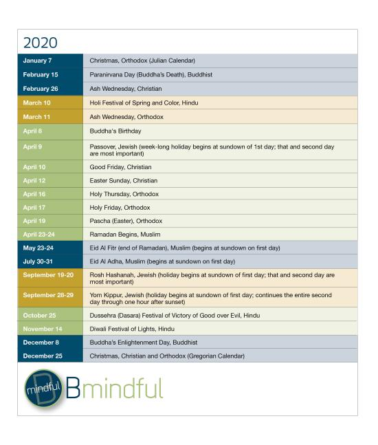 BMindful 2020