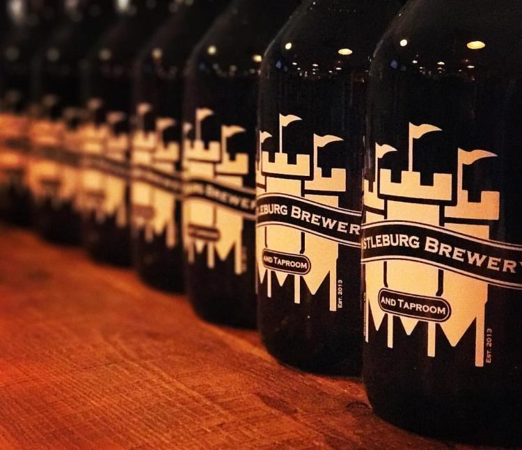 Castleburg Brewery growlers