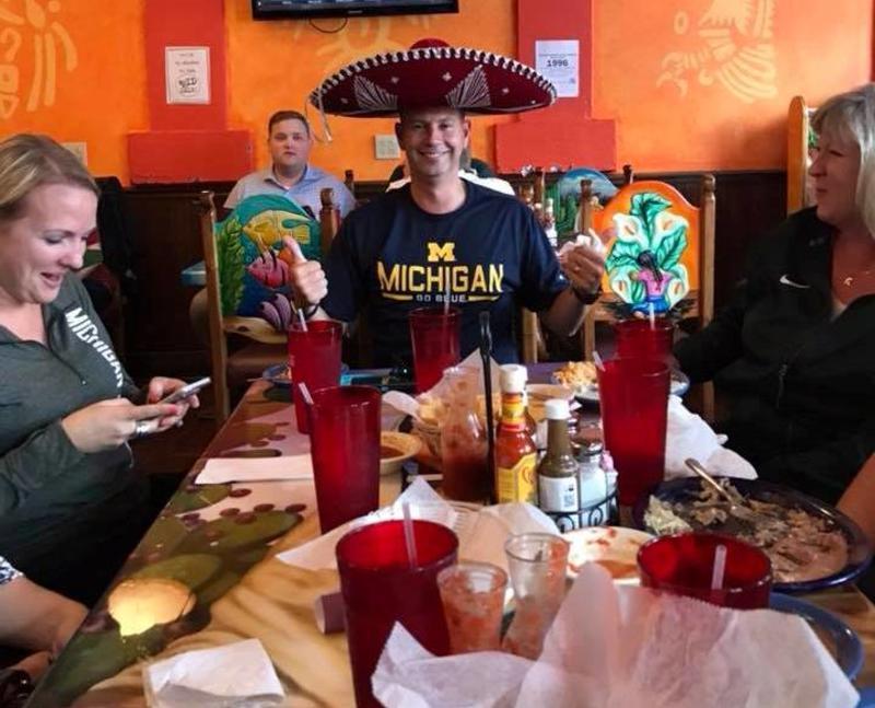 Dave at Los Tres