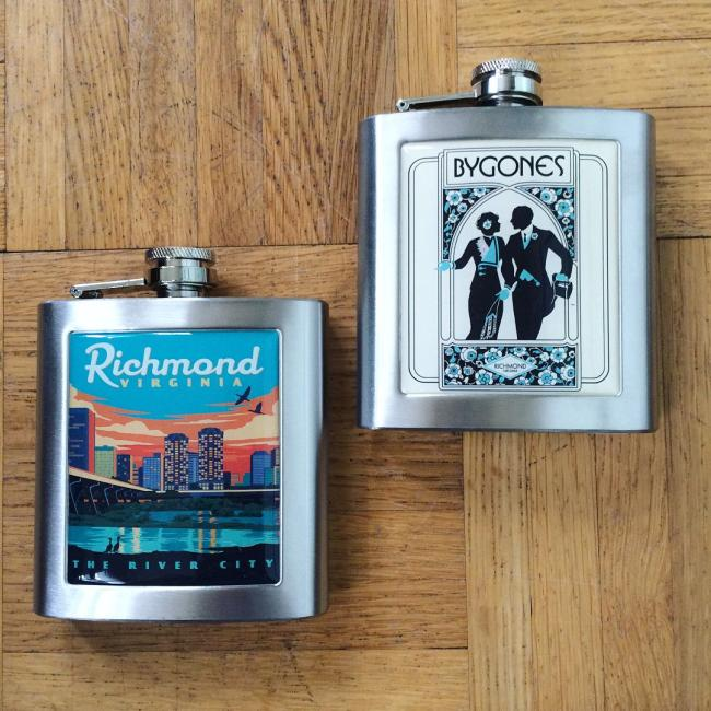 Richmond flasks from Bygones