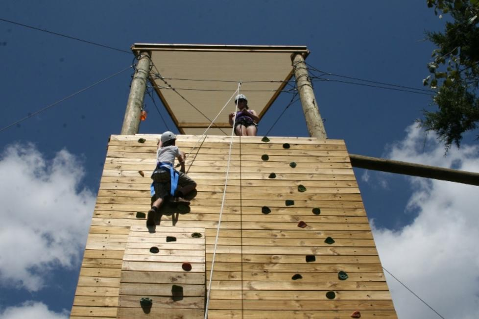 34' Climbing Tower and Zip Line