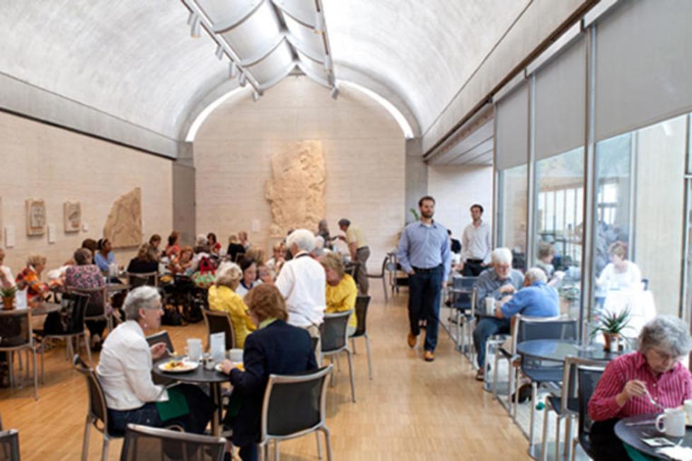 Buffet Restaurant at the Kimbell Art Museum