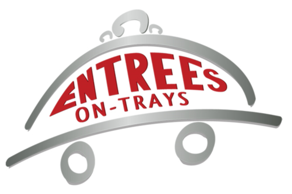 Entrees On Trays