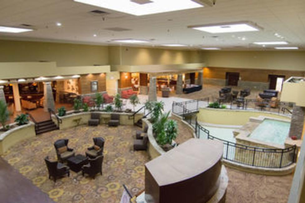 Atrium Area of the Fort Worth South Hotel