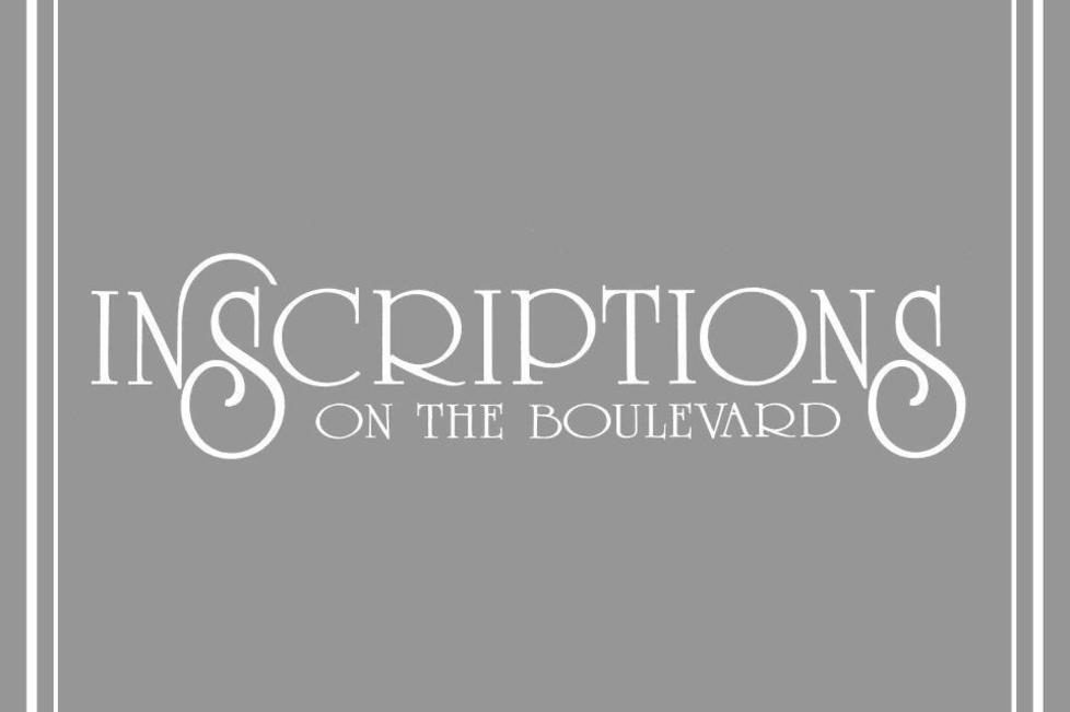 Inscriptions on the Boulevard Logo