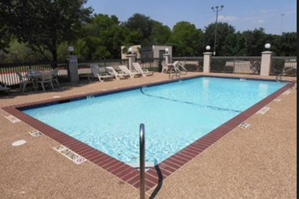 Outdoor Pool Sundeck