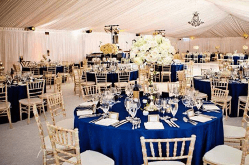 Reception Venue 1 - Outdoor Tented