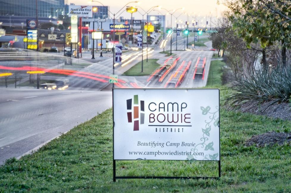 camp bowie district