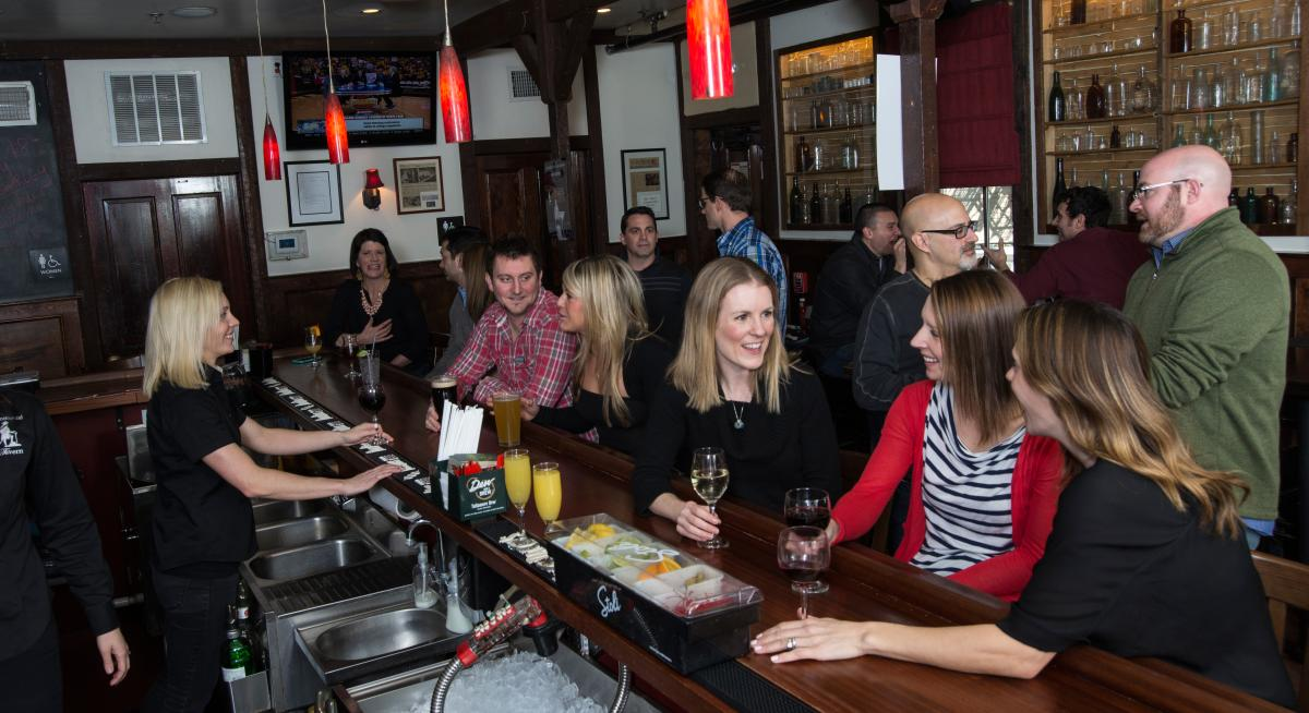 The Continental Tavern serves Olde Style Tavern Fare with a Curiously Modern Accent.