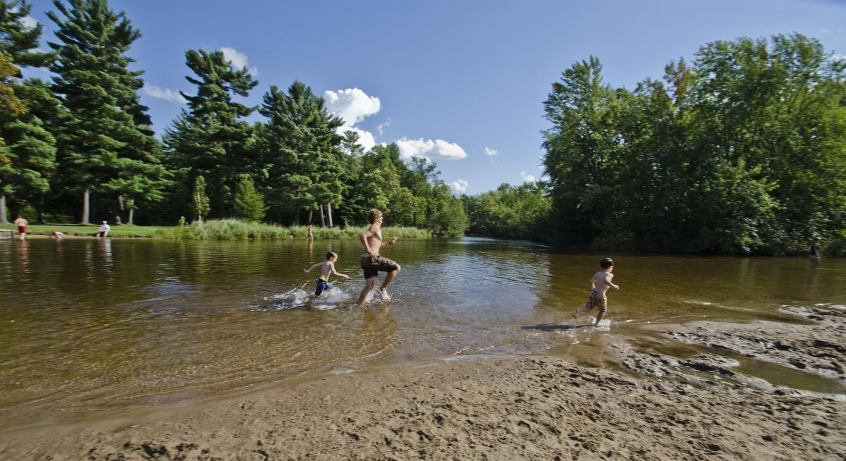 Head out for summer fun in the Stevens Point Area, including a stop at Iverson Park.