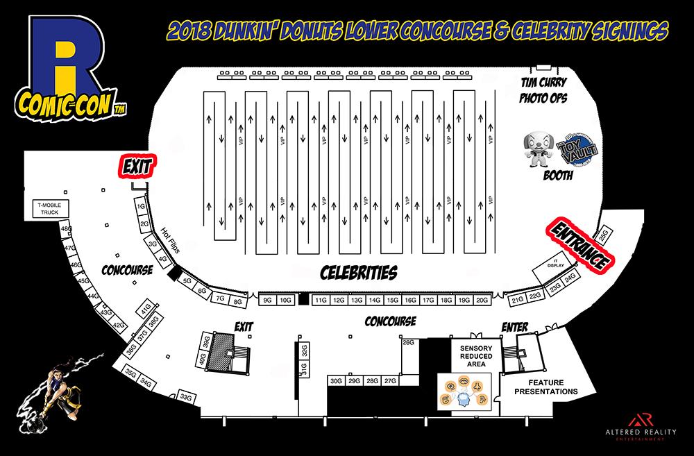 Comic Con Dunk Setup