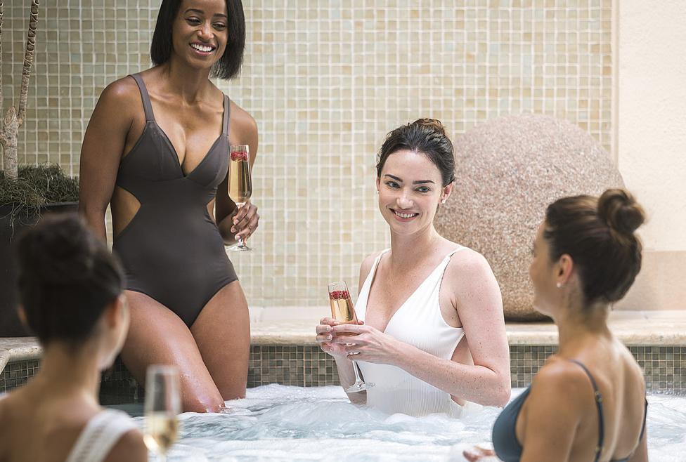 Girls Getaway at the Well & Being Spa