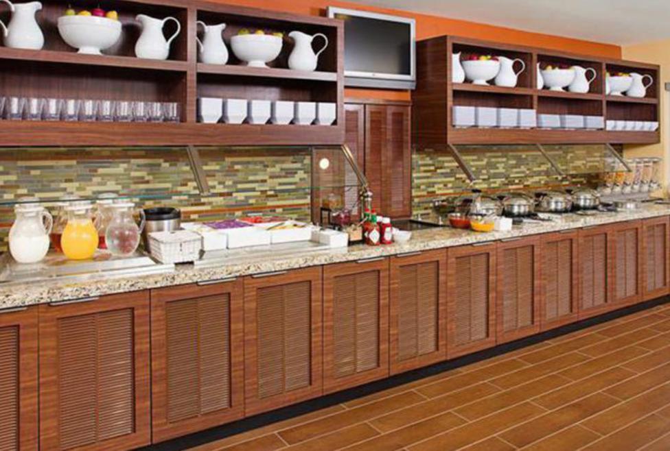Hyatt House - breakfast