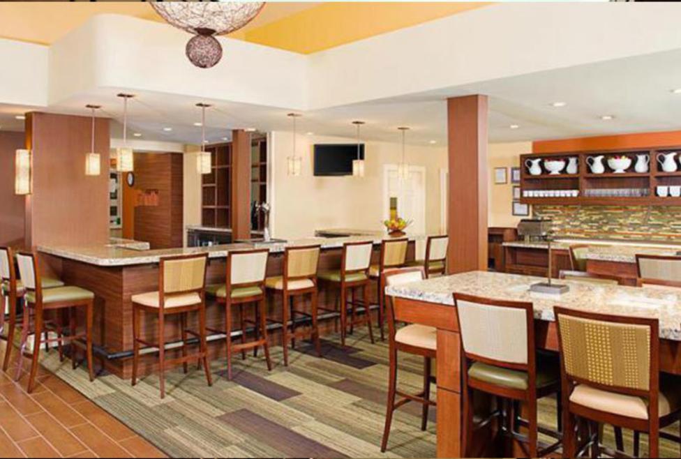 Hyatt House - lounge