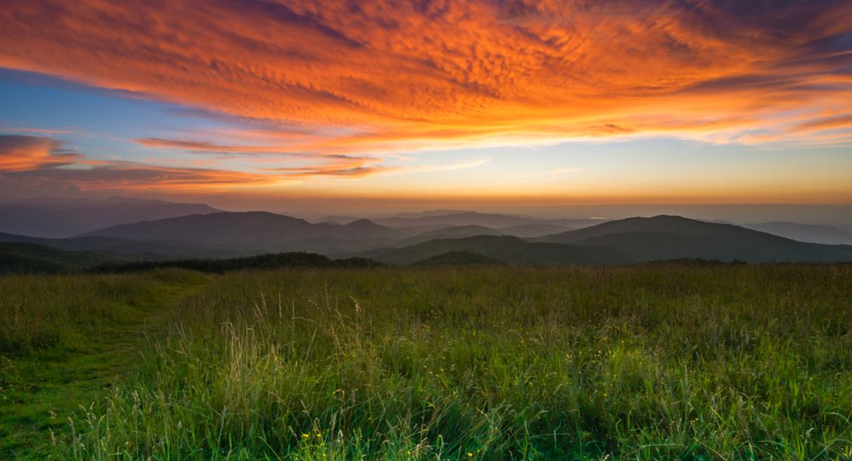 Max Patch Sunset