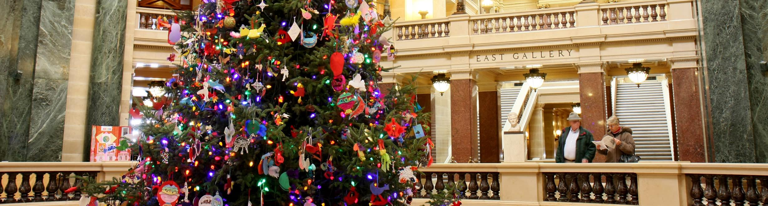 Capitol Decorated Tree