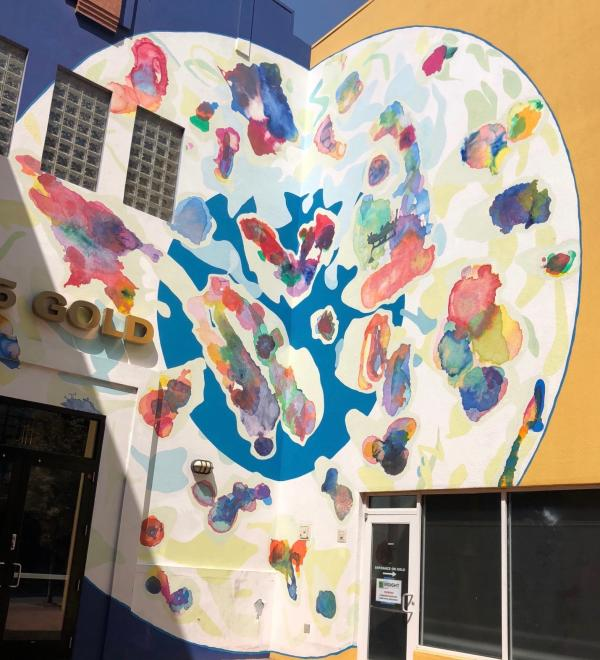 Mural Mosey Color Sphere