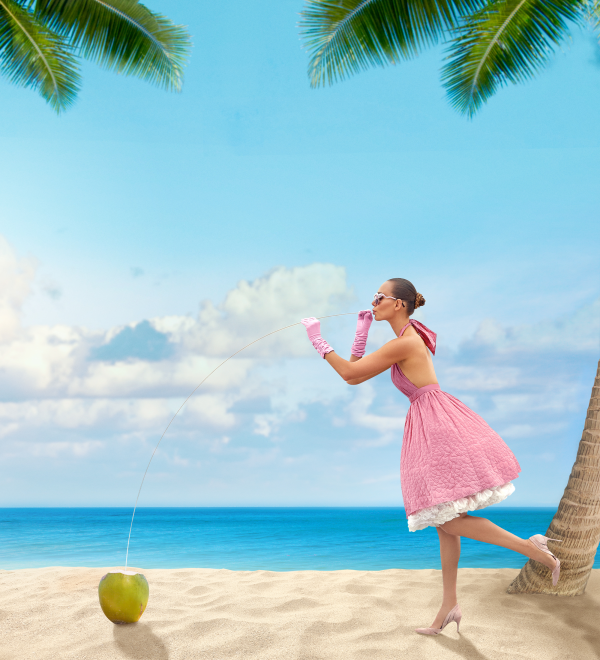 Seaglass Rosé promo poster