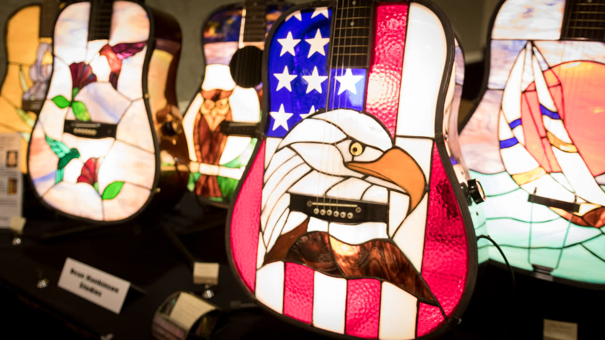 Artisan Guitar Show - Stained Glass