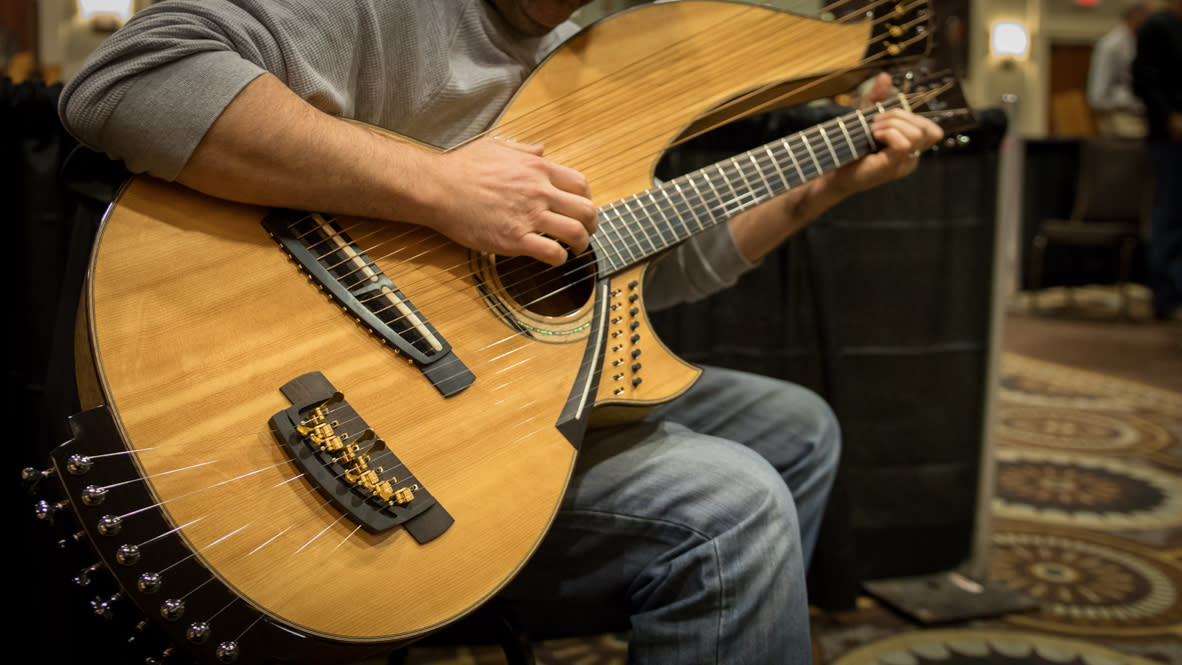 Artisan Guitar Show - Unique Build