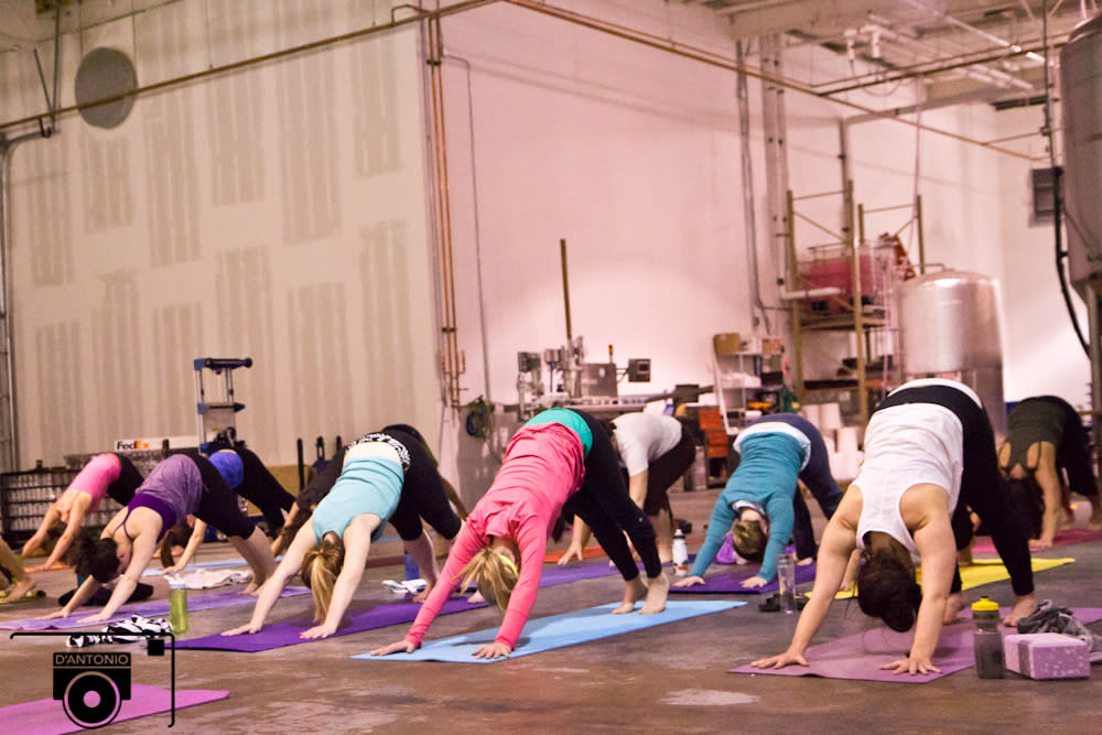 Jenna Bee Brewhouse Yoga Boulder