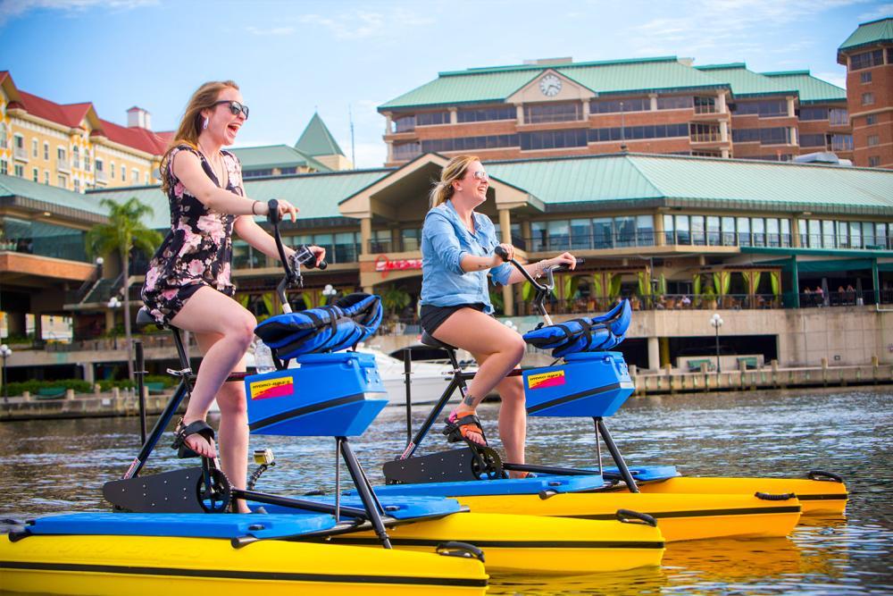 Tampa Water Bikes