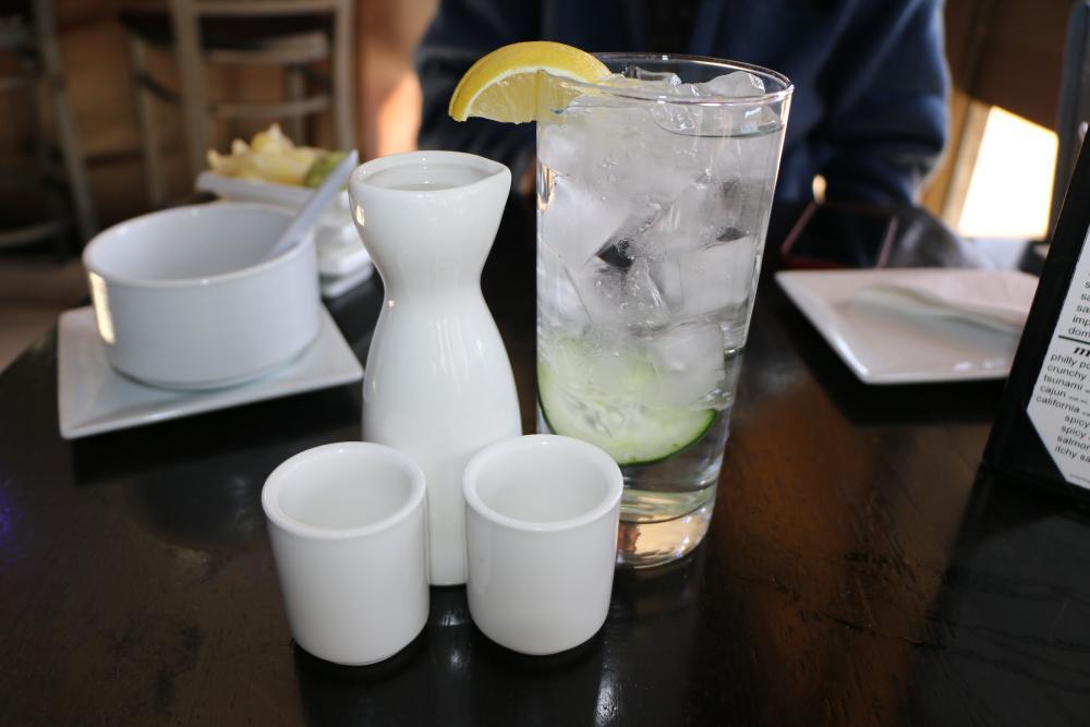 sake from rain premiere sushi bar