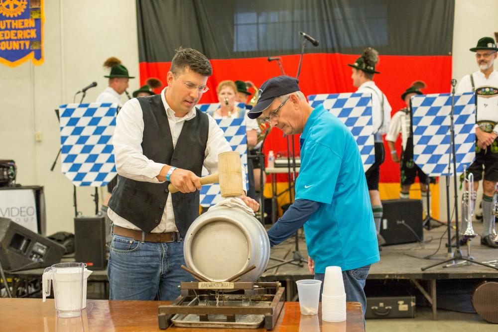 Oktoberfest Beer Tapping