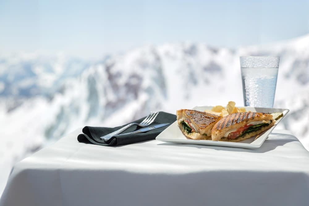 The Summit food at Snowbird