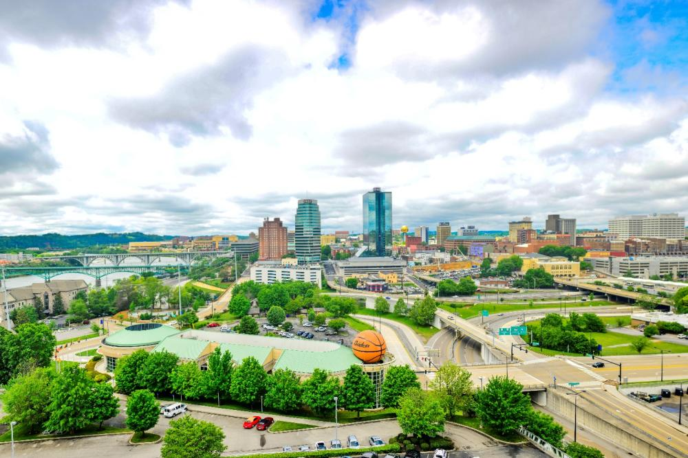 Knoxville Skyline courtesy of Shawn Pemrick